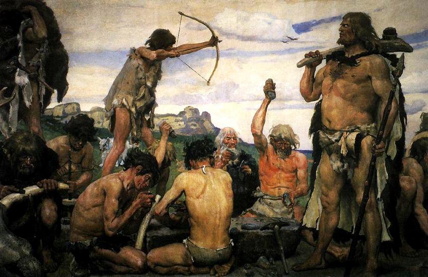 Neandertaler-Lager