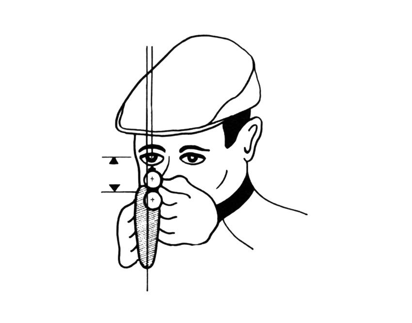 Flintenschießen Skizze-B