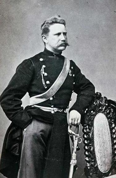 Captain Henrik Lindström