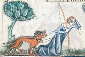 Jägerin Mittelalter