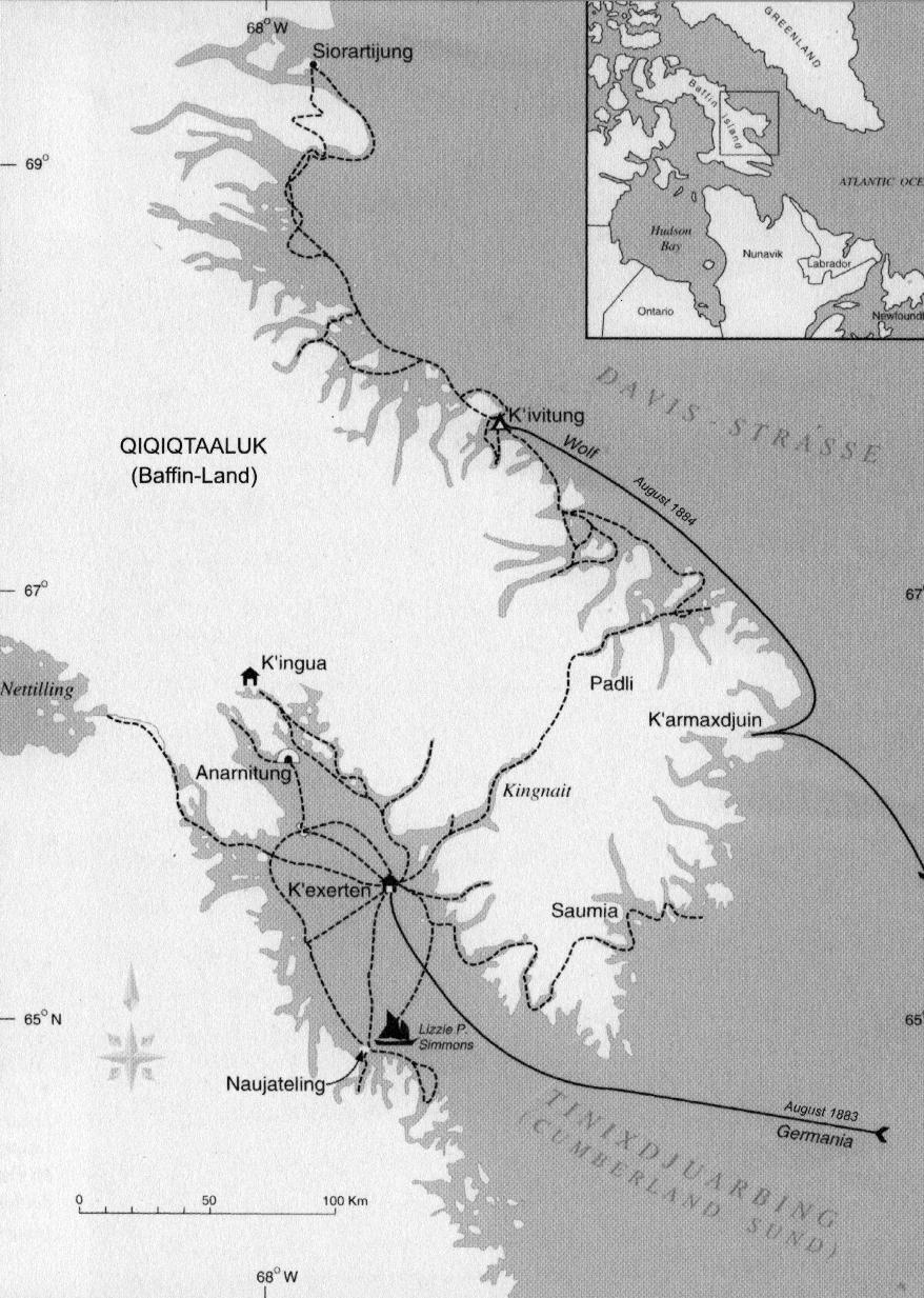 Baffin-Land Wanderungen