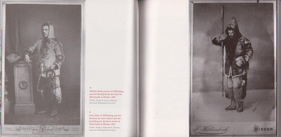 Franz Boas in Inuit-Trach_