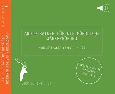 Audiotrainer für die mündliche Jägerprüfung