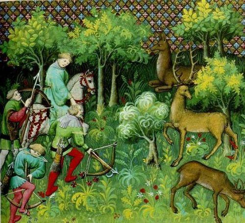 Jagd Mittelalter Bogen
