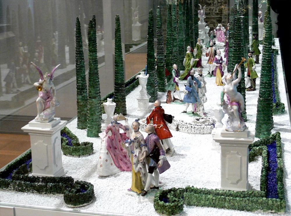Nymphenburg_Tafelaufsatz_Garten_BNM