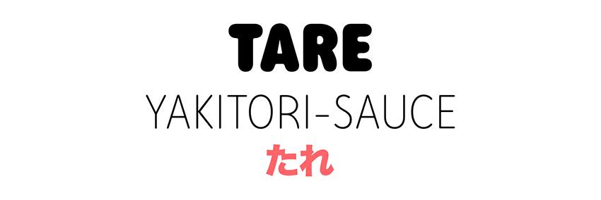 0_Tare-Schriftzug