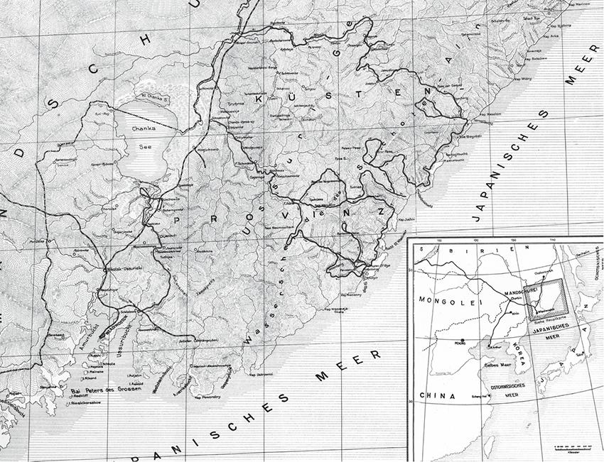 Karte Taiga
