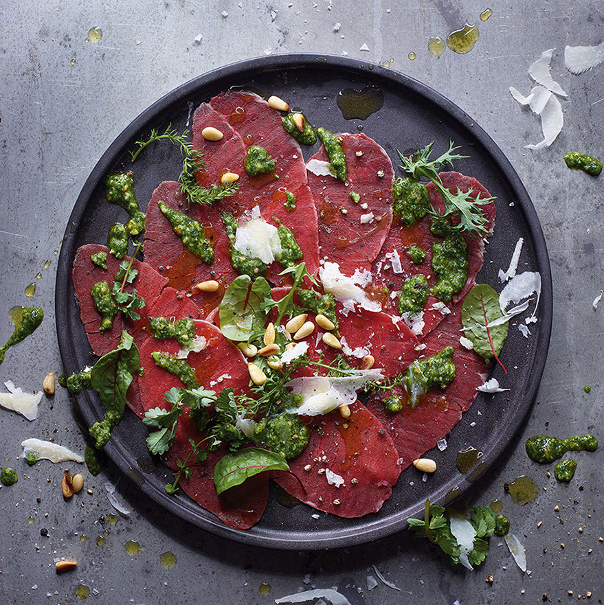 (c) Stefan Thurmann_BEEF_Raw_Hirsch_Carpaccio_01