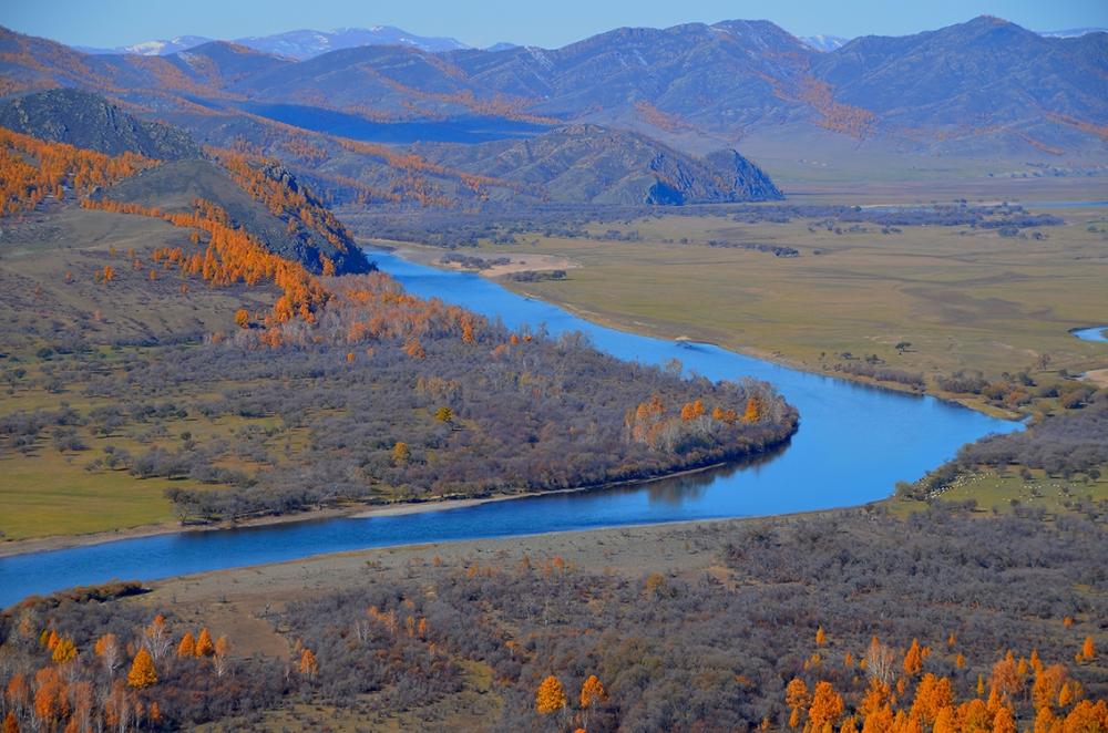Mongolei Angeln