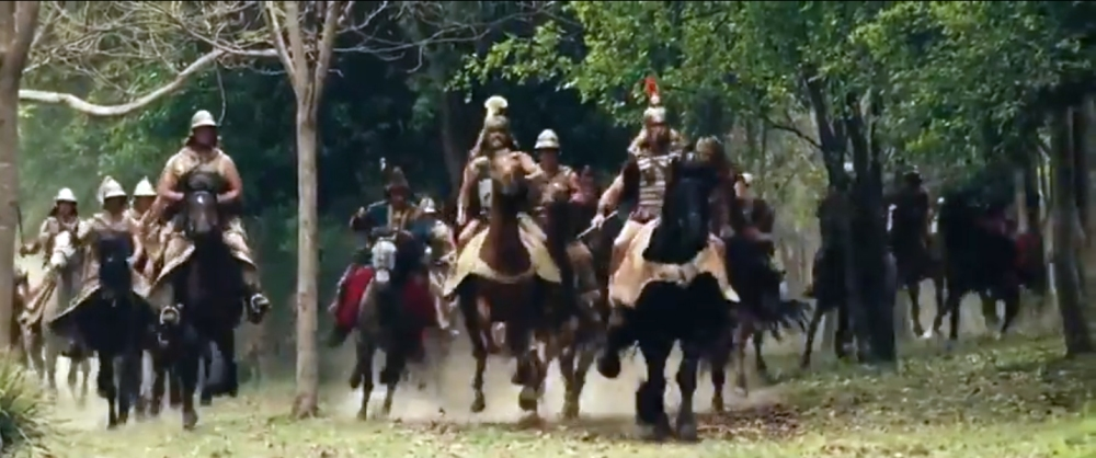 Alexander's Cavalry Charge